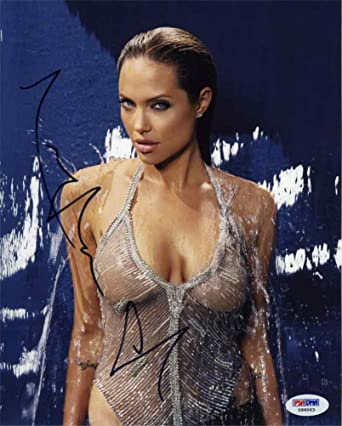 jolie cleavage Angelina