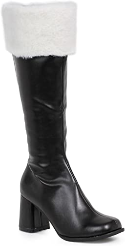 Shoes 3 Inch Heel Gogo Boots With Fur