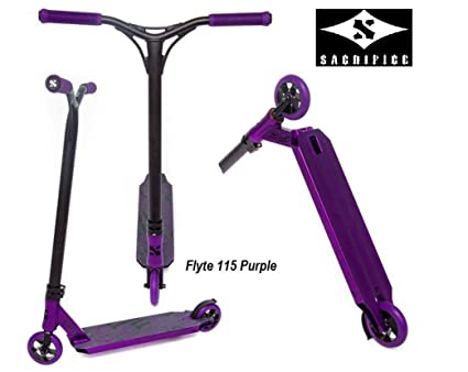 Sacrifice Flyte 115 2014 Stunt-Scooter 3,0kg Purple/Black ...
