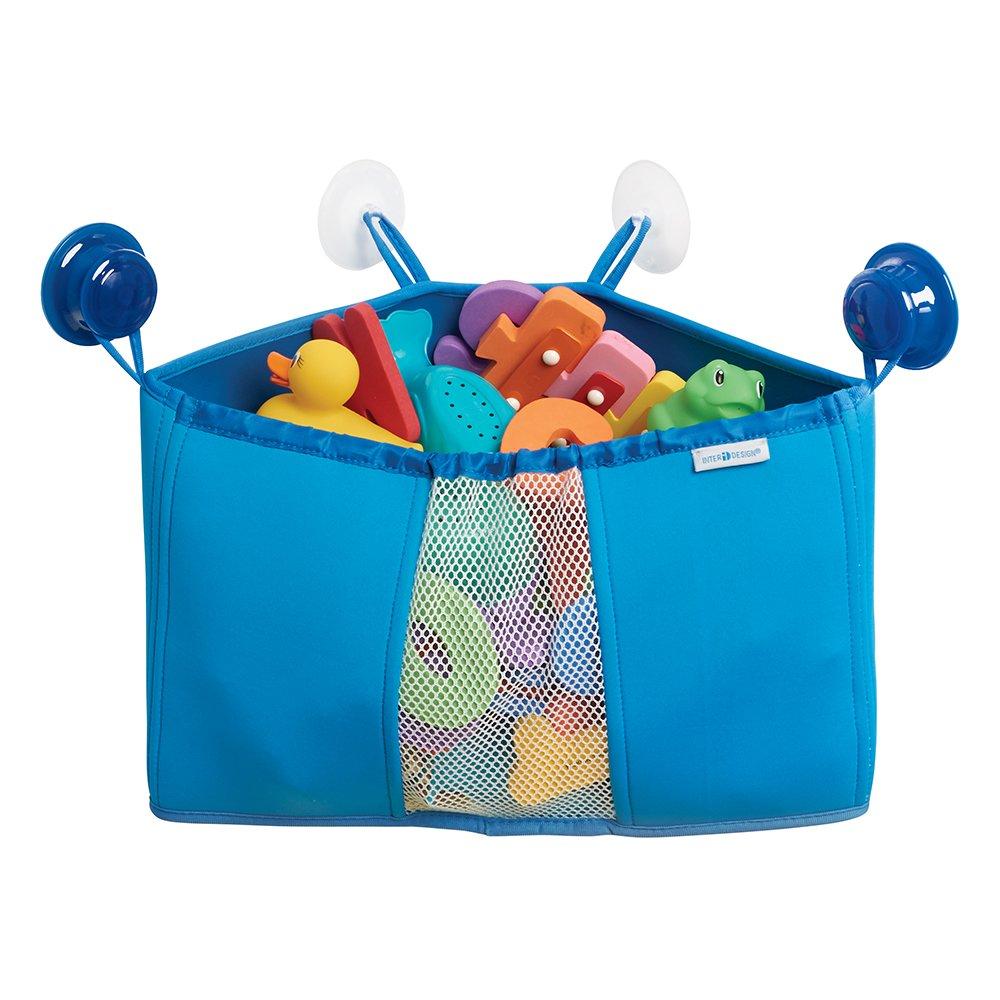 Amazon.com: mDesign Corner Kids and Baby Suction Shower Caddy ...