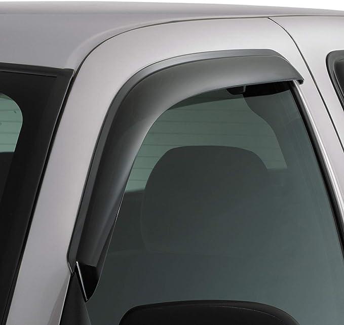 JDM Vent Window Visor 4pc Deflector For Chrysler Aspen 07 08 09 10 2007-2010