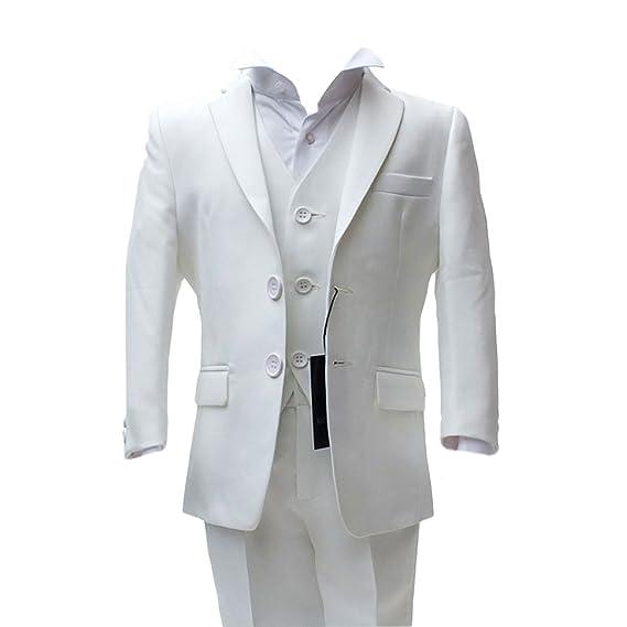 SIRRI Italian Cut Boys Formal Ivory Holly Communion Suit, Page Boy ...