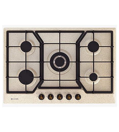 Piano cottura a gas cm. 75 per cucina,marca Smalvic Country ...