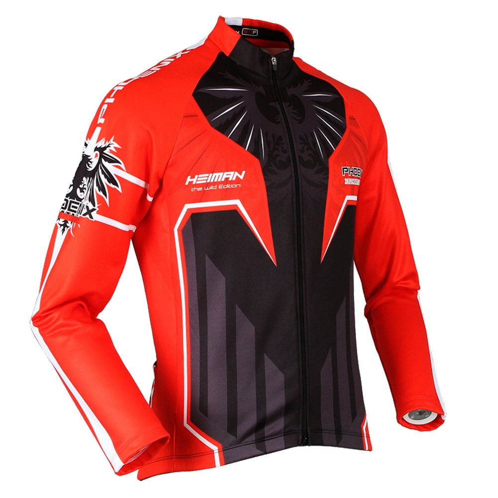 3dff9ae95 Amazon.com  HEIMAN Men Women Thermal Long Sleeve Outdoor cotton flannel  Cycling Jersey Team Wear (GLS-531) (2XL)  Car Electronics