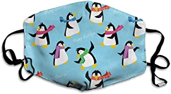 Amazon.com: Unisex Anti-Dust Mouth Mask Penguins in A