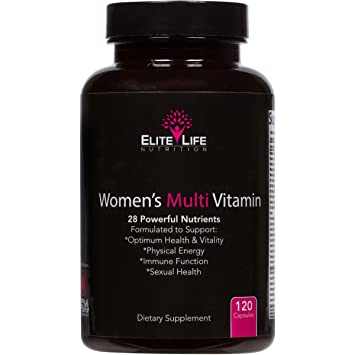 Best Womens Multivitamin >> Women S Multi Vitamin 28 Powerful Nutrients Vitamins And Minerals Best Multivitamin For Women Supports Optimum Health Physical Energy Immune