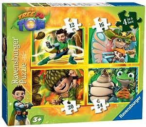 Tree Fu Tom - Juego de 4 puzzles