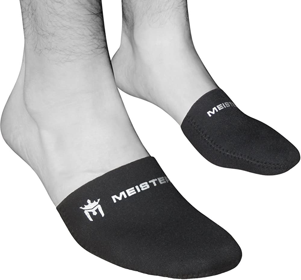 Meister 2.5mm Thermal Neoprene Toe Warmer Booties for Cycling, Running, Hiking & Ice Baths (Pair)