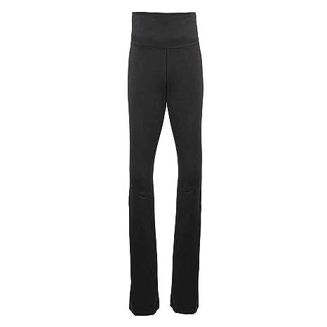 aa014 Mujer Algodón Elastano Jersey Pantalón de yoga (8300 ...