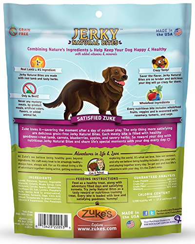 Zukes-Jerky-Natural-Bites-Dog-Treats-Tender-Lamb-Recipe-6-Ounce