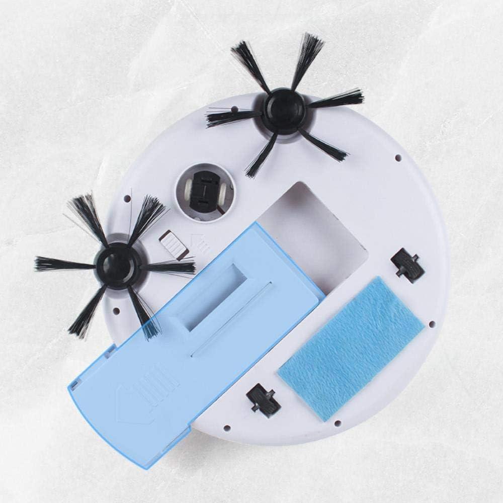 LIUCHANG Robot Rechargeable de Balayage, l\'appareil ménager aspirateur Intelligent, Maison Machine de Nettoyage Automatique liuchang20 (Color : White) White