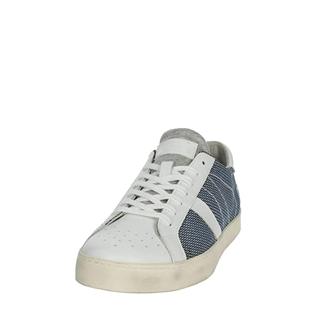 D.A.T.E. Sneakers Uomo, Hill Low ARGEGNO USky, Colore Blu