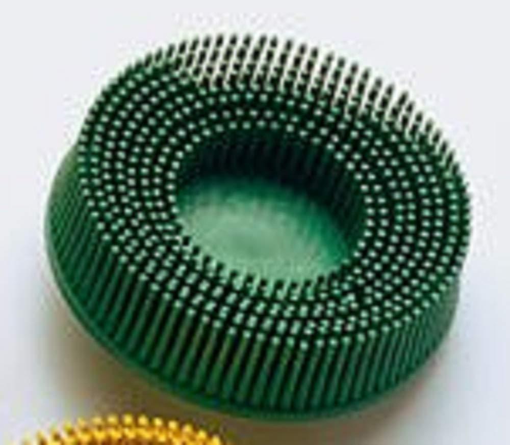 3M 3M-18734 Roloc Bristle Disc Grade - 50, Size - 3 - Green