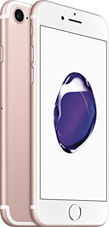 Apple iPhone 7 32GB Unlocked Phone, Rose Gold (Certified Refurbished)