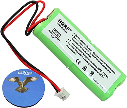 HQRP Battery Compatible with Dt-Systems SPT Series SPT-2420, SPT-2422, SPT-2430, SPT-2432, SPT-7300, SPT-7302, SPT-7800, SPT-7802 Remote Controlled Dog Training Collar Receiver Coaster