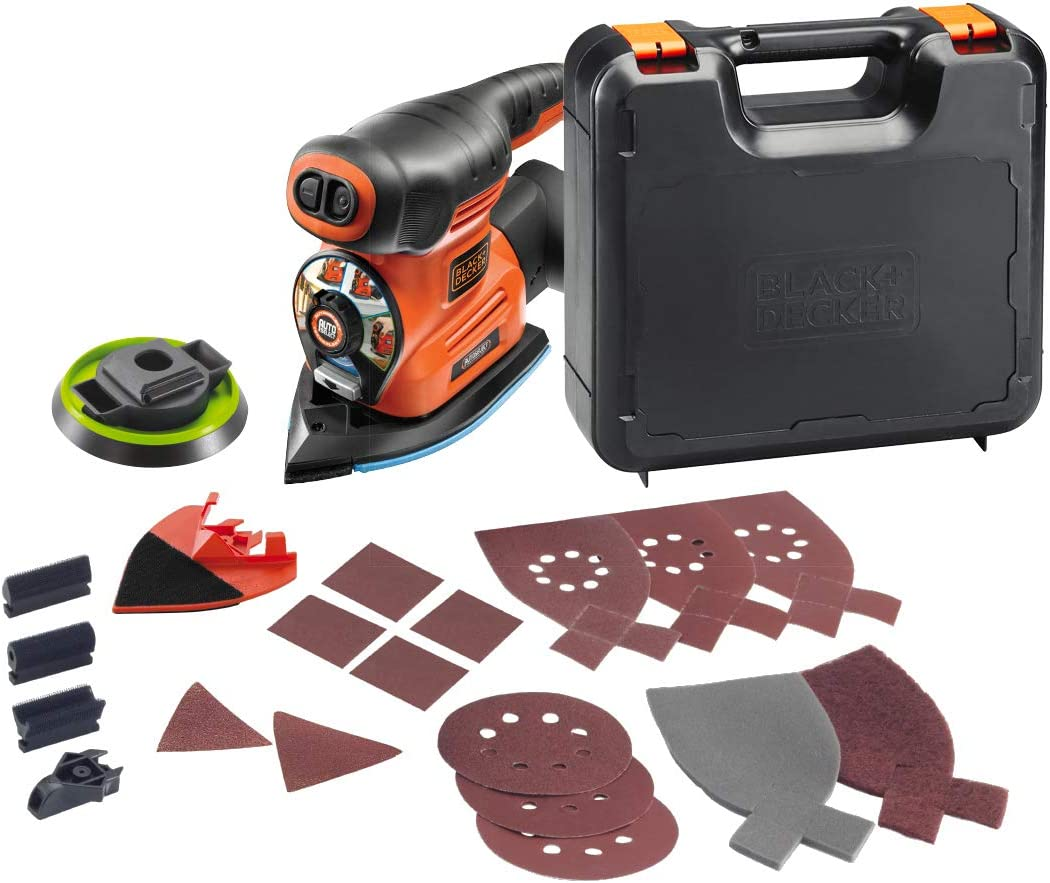 Black+Decker KA280K-QS Multilijadora Autoselect 4 en 1, 19 ...
