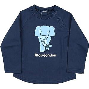 57315daac4f76 Amazon.co.jp:  子供服  moujonjon (ムージョンジョン) 日本製ベア裏 ...