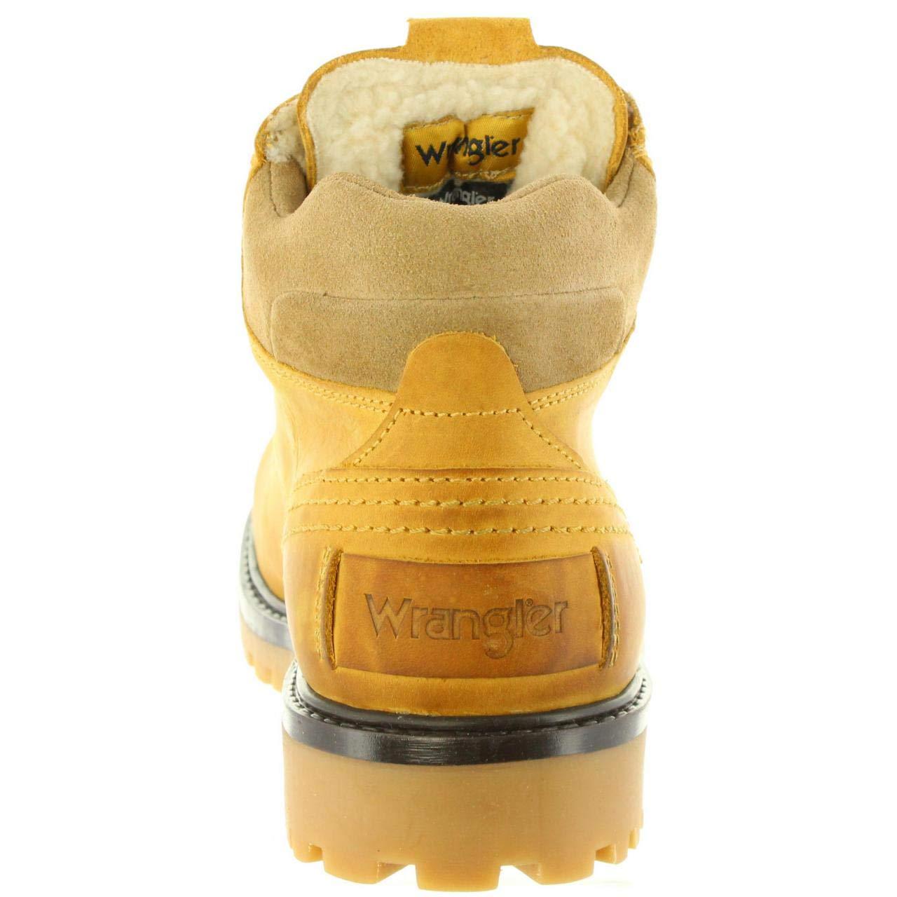WRANGLER Scarpe Scarpe Scarpe Uomo Stivali Yuma Fur in Pelle Marronee WM182005-CAM | Prezzo di liquidazione  d39e26
