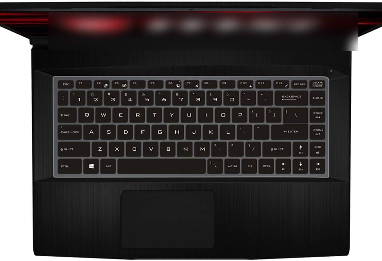 for Msi Gf63 P65 Ps42 Ps63 Gs65 8Rd 8Re 8Rb 8Rcx 8Re 014Cn 15.6 15 Inch Laptop Keyboard Keyboard Skin Cover-Candyblue