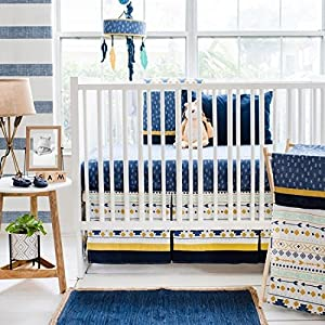 61RYOYf9rmL._SS300_ Nautical Crib Bedding & Beach Crib Bedding Sets
