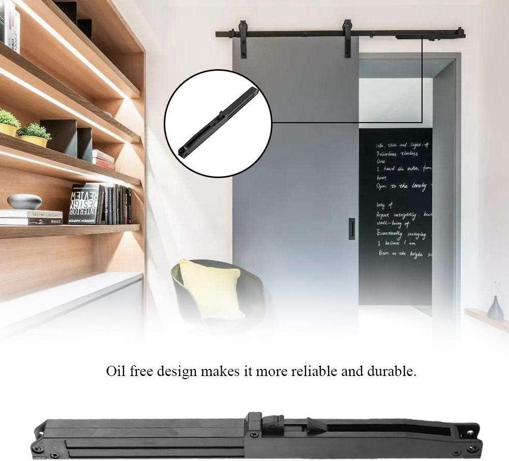 Maxmartt Soft Close Slides Mechanism Furniture Remission Accessory For Sliding Rail Barn Wood Door