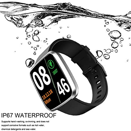 TARTIERY Smart Watch Sport Watch Touch Control IP67 Impermeable ...