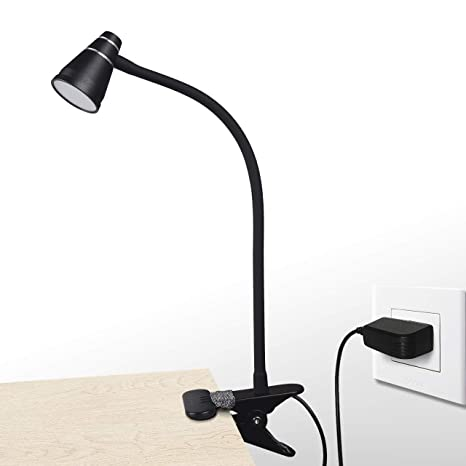 Lights & Lighting Strong-Willed Mini Flexible Book Light Clip On Night Light Bright Led Desk Reading Light Lamp Table Lamp Travel White Light Excellent In Cushion Effect