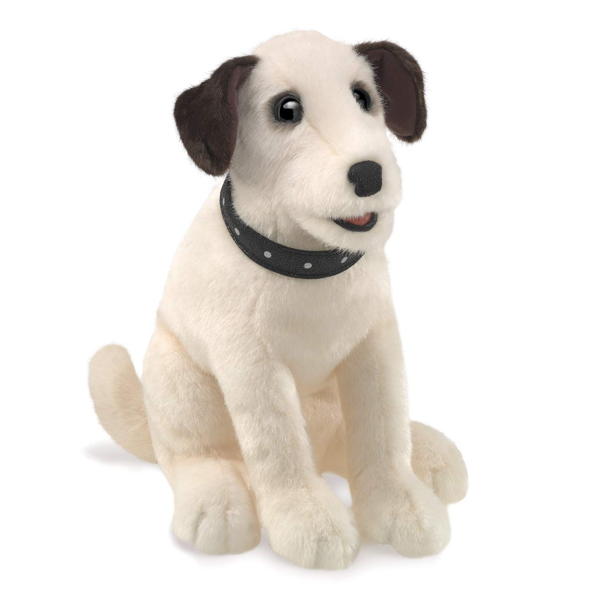 One Size Folkmanis 3132 Sitting Terrier Hand Puppet Multicolor
