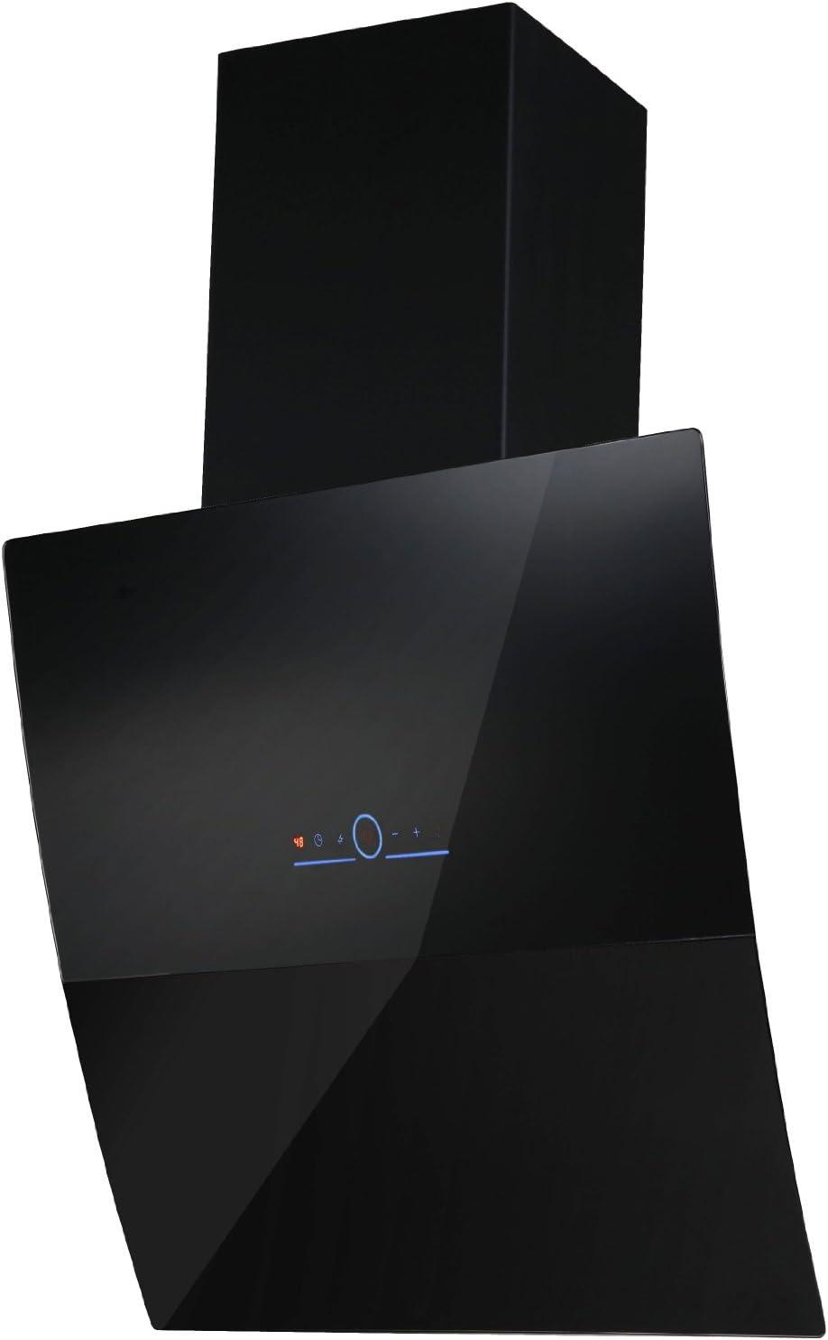 Bergstroem - Campana extractora sin cabeza, de acero inoxidable, cristal, función de seguimiento, 60 cm, color negro: Amazon.es: Grandes electrodomésticos