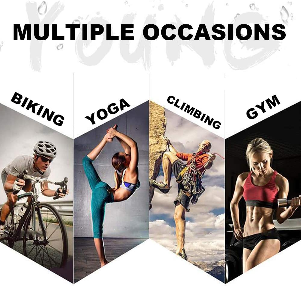 Ultra Compact Microfiber Towel for Yoga Sports Running Gym Workout Camping Fitness Workout Pilates Travel Peicees 9 Pack Cooling Towel Soft Breathable Chilly Ice Towel Fast Drying Super Absorbent