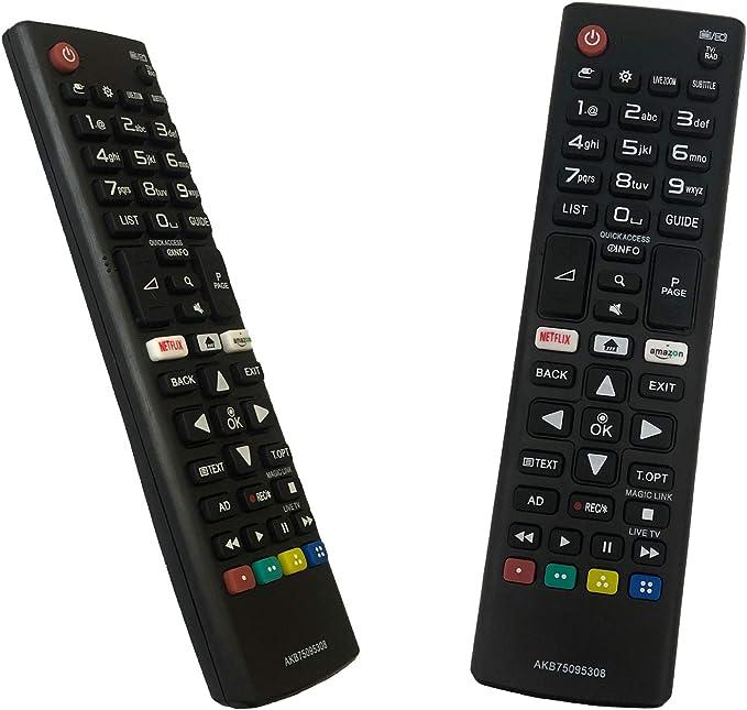 iLovely Reemplazo Mando a Distancia AKB75095308 para LG Smart TV: Amazon.es: Electrónica