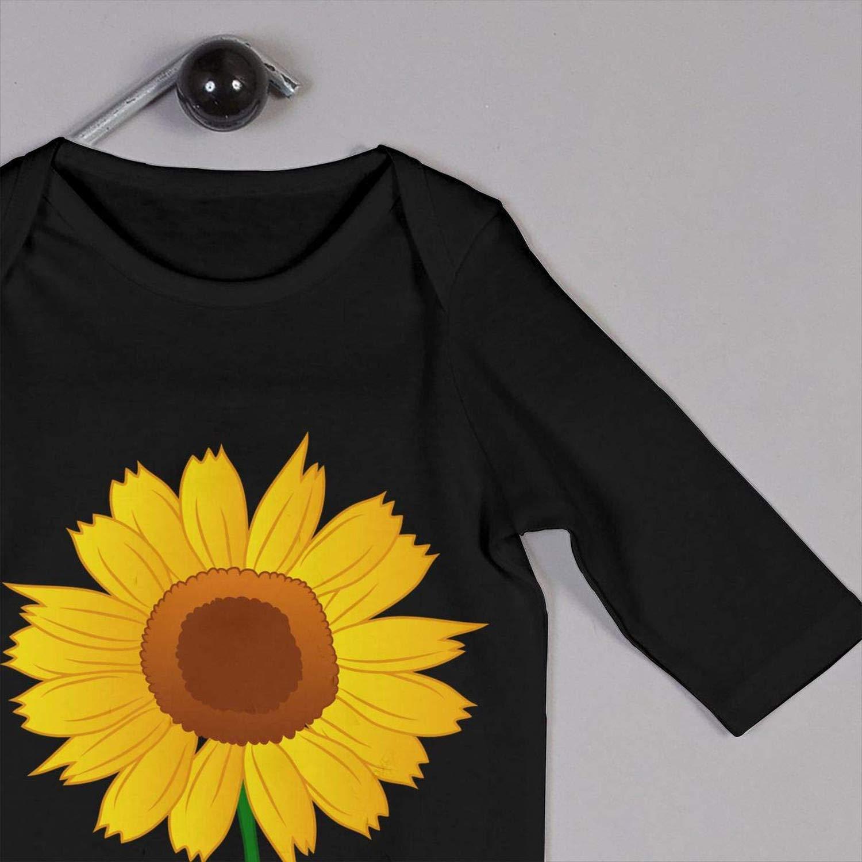 Zmli Sunflower Clipart Baby Boy Long Sleeve Romper Jumpsuit Jumpsuit Onesies