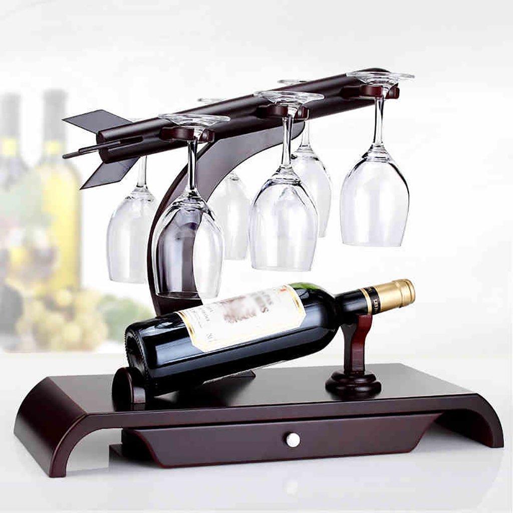 クリエイティブワインラック赤ワイングラスホルダー杯ラック倒立ワイングラスラックワインラック家庭用ワインラック ワインホルダー B07F2344SP
