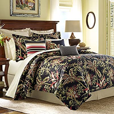 Tommy Bahama Jungle Drive Throw Pillow, 14x20, Black -  - comforter-sets, bedroom-sheets-comforters, bedroom - 61RYRoBRU3L. SS400  -