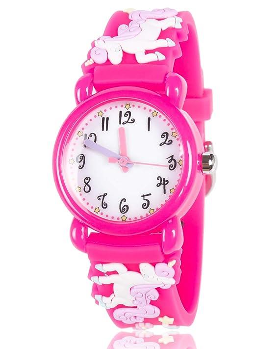 Amazon.com: Dodosky - Reloj impermeable para niños, diseño ...