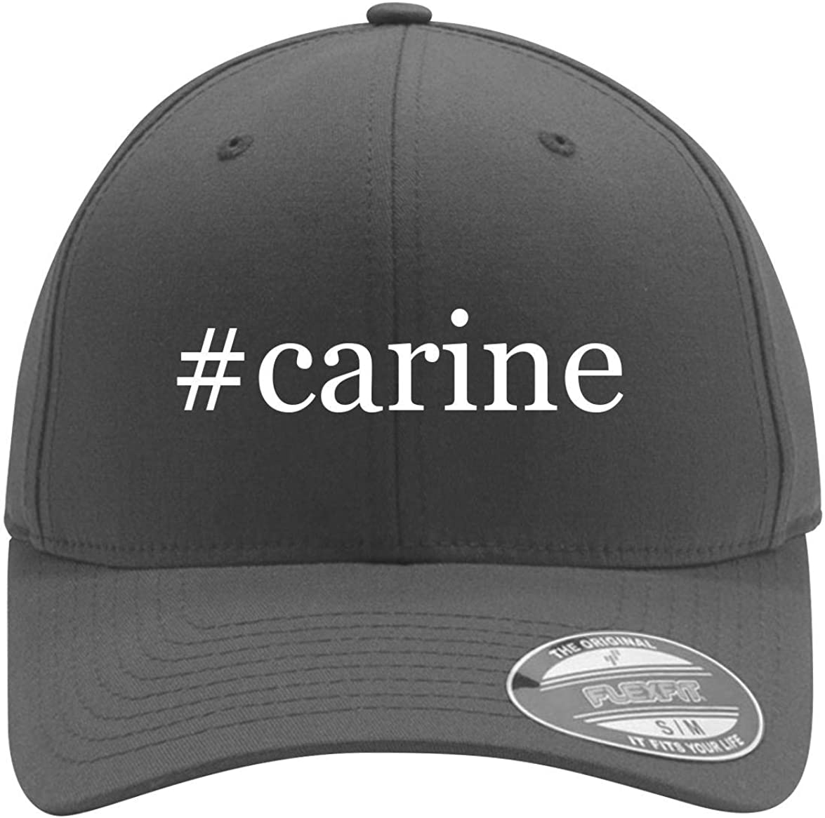 #carine - Adult Men's Hashtag Flexfit Baseball Hat Cap