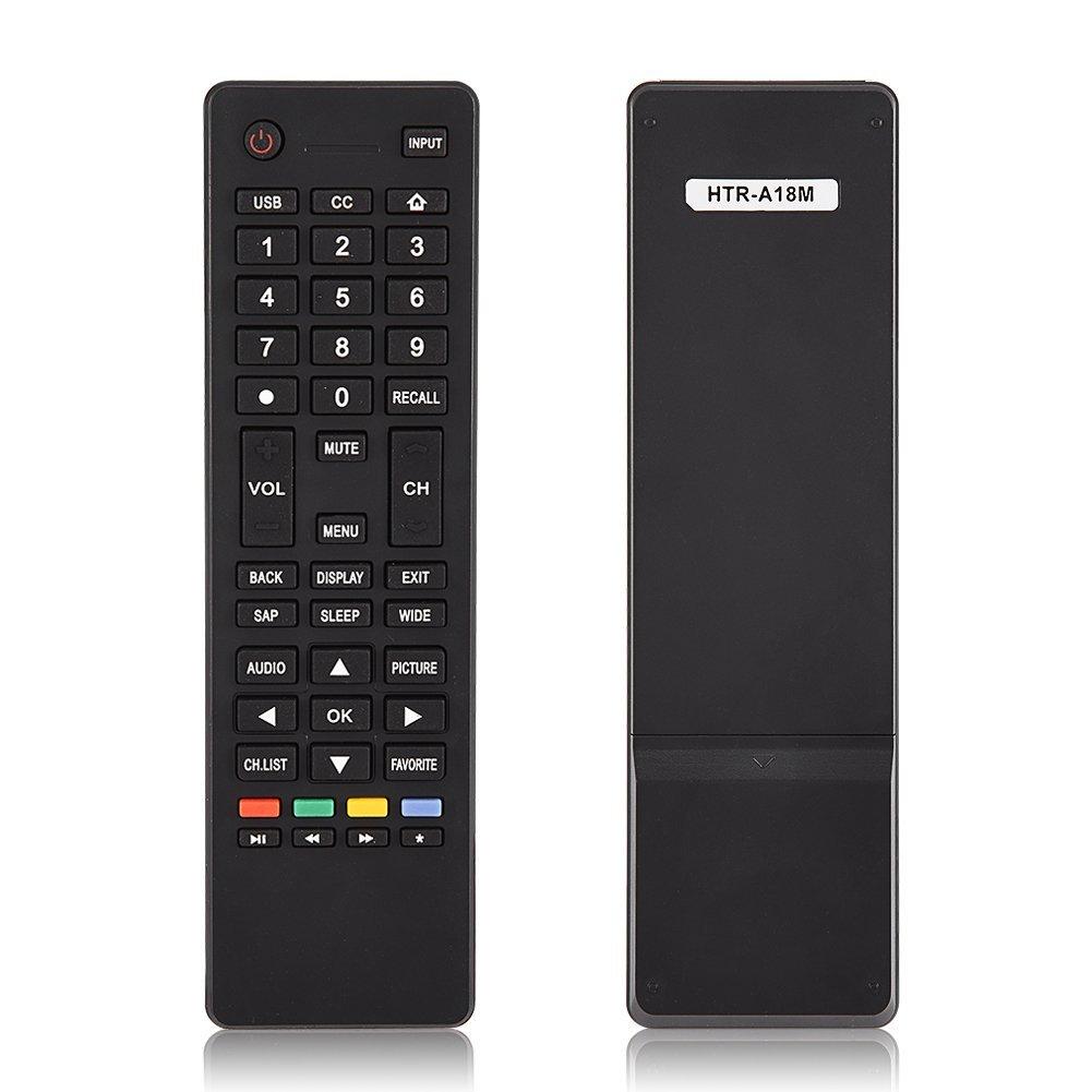 Universal Remote Control Fit for Haier HTR-A18M TV, Remote Control Replacement for Smart TV Haier HTR-A18M 55D3550 40D3500M 48D3500 Zerone