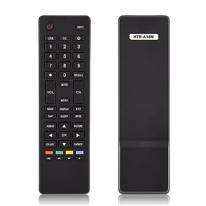 Universal Remote Control Fit for Haier HTR-A18M TV, Remote Control  Replacement for Smart TV Haier HTR-A18M 55D3550 40D3500M 48D3500