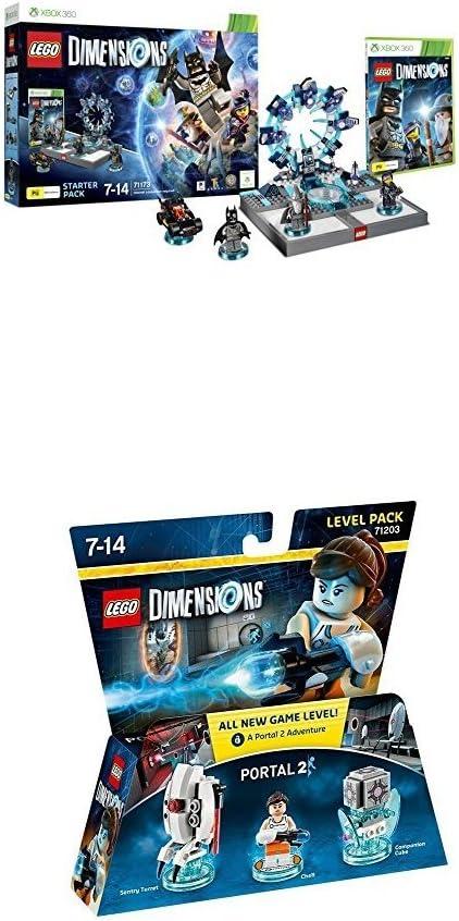 LEGO - Starter Pack Dimensions (Xbox 360) + LEGO Dimensions - Portal 2, Chell: Amazon.es: Videojuegos