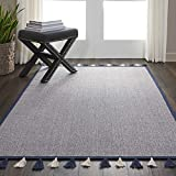 Nourison DS600 DWS06 Otto Area Rug, NAVY, 4′ x 6'6″