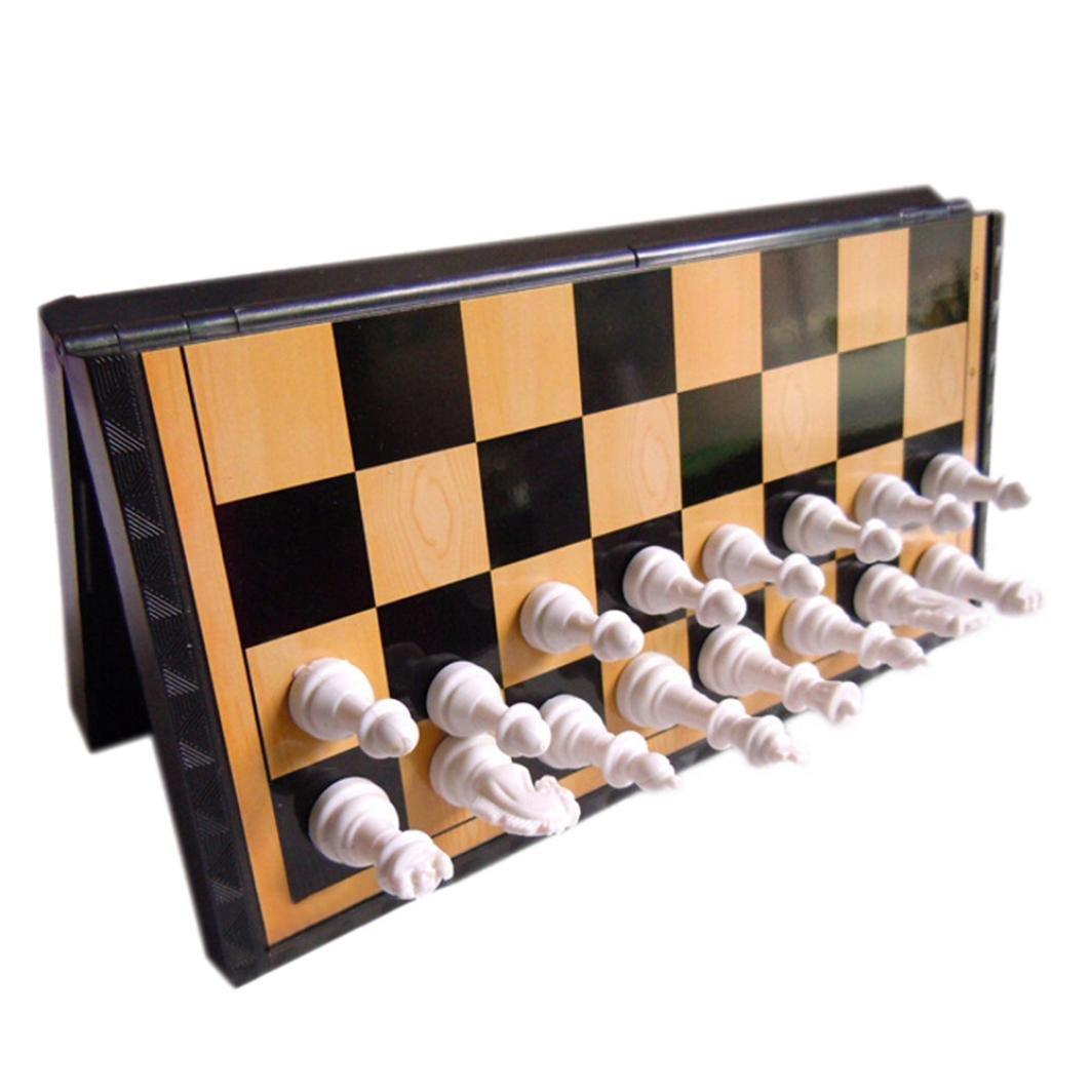 今年も話題の leliliプラスチック折りたたみ磁気チェス盤国際チェスゲーム玩具セットCompetition 20x20.8cm 20x20.8cm ブラウン ブラウン B077VRPHLK B077VRPHLK ブラウン 20x20.8cm, ヤストミチョウ:76166d28 --- nicolasalvioli.com