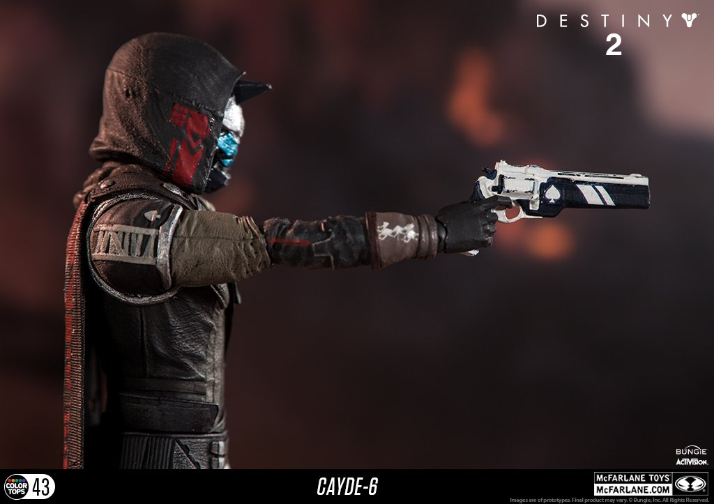 McFarlane Toys 13040-9 Destiny 2 Cayde 6 Collectible Action Figure by McFarlane Toys (Image #10)