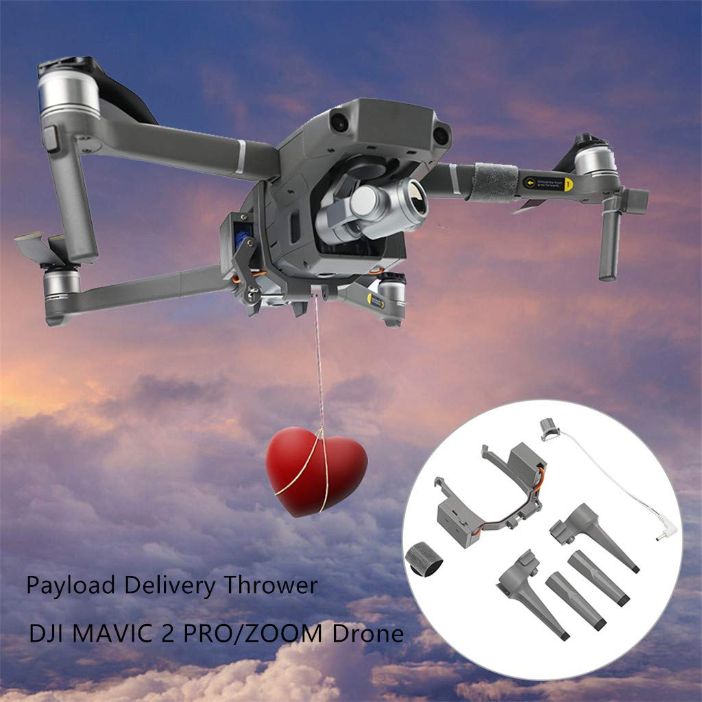 TwoCC-Drone, Dispositivo de gotero de aire de lanzamiento de carga ...