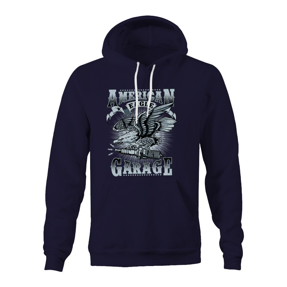American Eagle Garage Hoodie - Navy - Small: Amazon.es: Ropa y ...