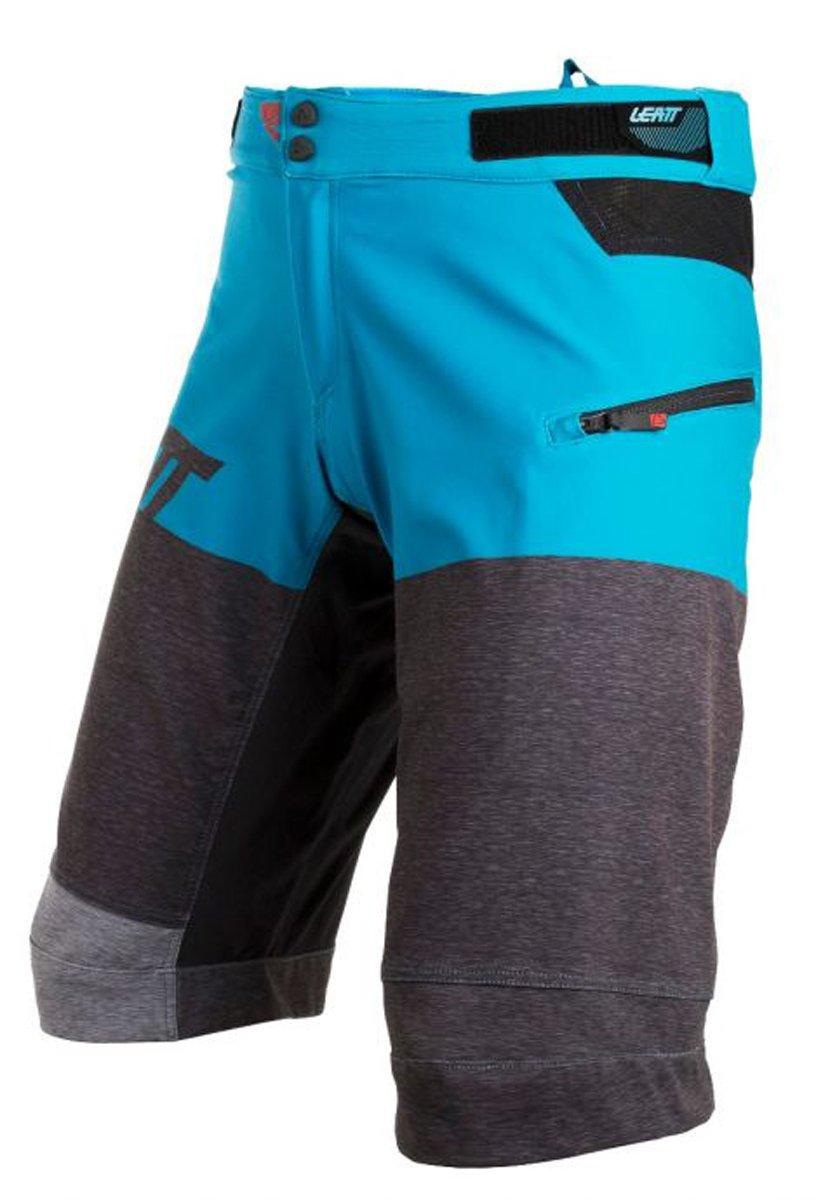 Leatt DBX 3.0 Adult BMX Shorts - Brush/Blue / Size 28