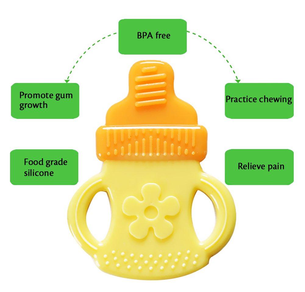 Amazon.com: bassion Juego de juguetes dentición – última ...