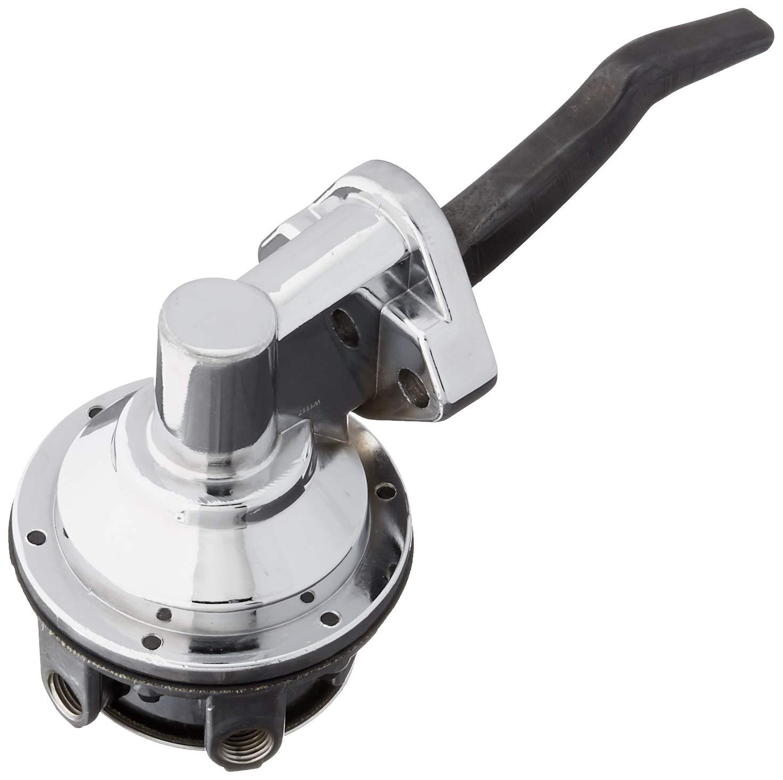 Top Street Performance JM1008C Chrome 80 GPH Free Flow Mechanical Fuel Pump