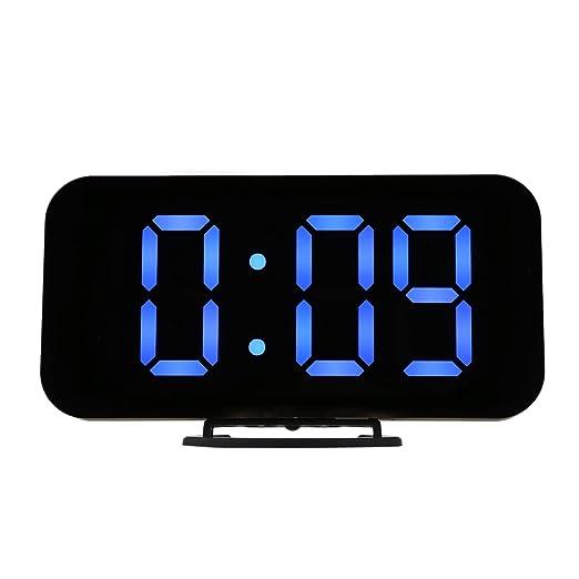 TOOGOO Alarma Led Digital Reloj De Mesa Brillo Ajustable para Casa ...