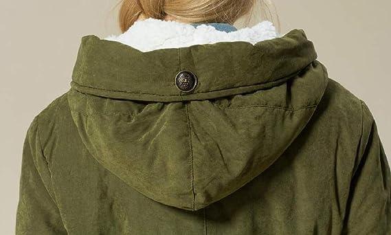 ddedd3899b1 CBTLVSN Women s Plus-Size Wool Lined Winter Hood Peacoat Jackets Coat at  Amazon Women s Clothing store