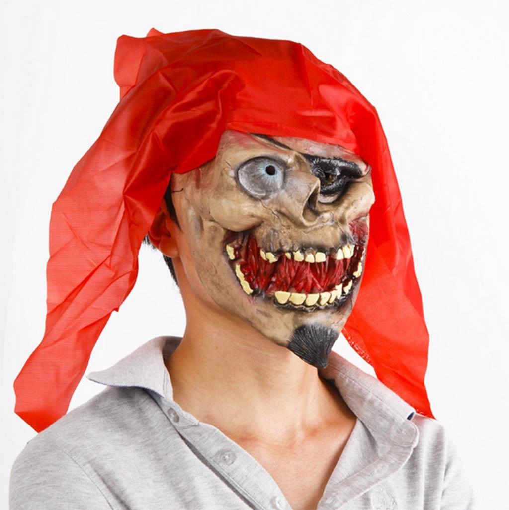 Mustbe strong COS Halloween Ganze Leute Spielzeug Maske Terror Teufel Pirat Zombie Maske Zombie Geistermaske High qualityModellierung realistisch B07J2L2C5P Masken für Erwachsene Verbraucher zuerst | Heißer Verkauf
